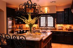 Old World kitchens | Old world kitchen with contemporary flair, This is a custom kitchen I ...