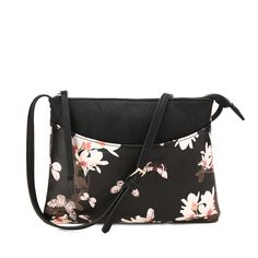 Elegant and Stylish, New Arrival Floral Print Design Cross-body Bag is a must-have for fashion lovers !! A great gift for Christmas!!!