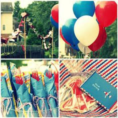 Growing Home: Airplane Birthday Party