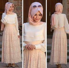 Hijab Evening Dress, Hijab Dress Party, Hijab Style Dress, I Dress, Abaya Fashion, Muslim Fashion, Skirt Fashion, Fashion Dresses, Salwar Pattern