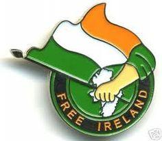 Free Ireland Pin