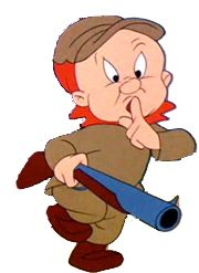 Elmer Fudd began life as a very different character called Egghead, whom Tex Avery created as a bizarre figure with an egg-shaped head, a squat body and a long, bulbous nose. Description from web.pdx.edu. I searched for this on bing.com/images