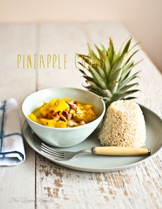 Pineapple Curry Sri Lankan