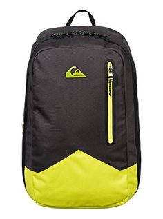 Quiksilver Men's New Wave Plus Backpack, Sulphur Spring, One Size. Inside laptop sleeve with organizer. Buy Backpack, Backpack Online, Hiking Backpack, Laptop Backpack, Black Backpack, College Bags For Girls, Oakley Bag, Bts Bag, Mochila Adidas