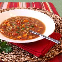 ras el hanout lentil soup