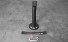 The Rogue Loading Pin attaches to a variety of  Rogue Grip World items and allows for quick and easy addition of weight. Check out this accessory at Rogue Fitness.