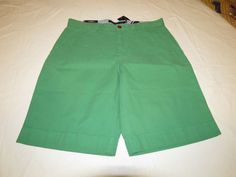 Men's Tommy Hilfiger 36 Classic Fit shorts 323 Leprechaun 7880825 casual TH #TommyHilfiger #shorts