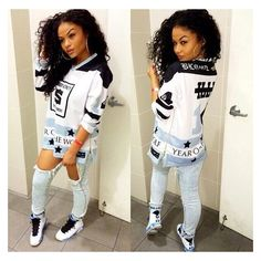 T-shirt: india westbrooks westbrooks shirt white white white shirt... ❤ liked on Polyvore featuring girls and outfits