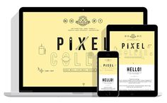 Pixel Collar - Portfolio website on Behance