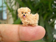 The Cutest Miniature Crochet Animals Ever! | artFido's Blog