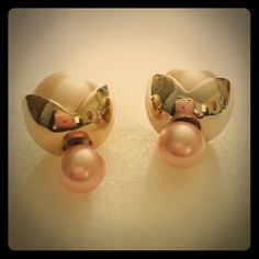 Double Sided Earrings Elegant and classy Jewelry Earrings