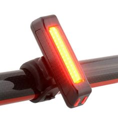 Lovely Bicycle Bike Light Cycling Front Rear Light Mode USB Rechargeable Lamp Bike Tail LED light