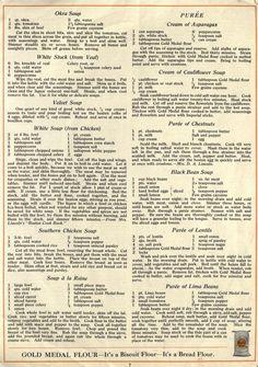 Retro Recipes, Vintage Recipes, Cookbook Recipes, Cooking Recipes, Creamed Asparagus, Granny's Recipe, Recipe Sheets, Cod Recipes, Vintage Cookbooks