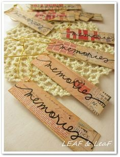 細長いタグ http://ameblo.jp/leafleaf-cards/
