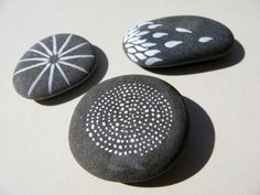 dorian dew: Painted Pebbles