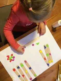 Kreatív Anyabanya: Fejlesztő játékok gyerekeknek