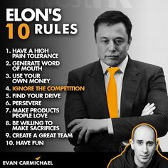 23 Likes, 3 Comments - Evan Carmichael Business Motivational Quotes, Positive Quotes, Inspirational Quotes, Need Motivation, Simple Quotes, Life Rules, Word Of Mouth, Elon Musk, Wisdom Quotes