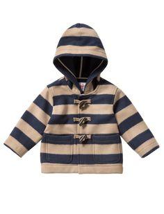 #ilgufo #dufflecoat #boys #baby #coat #classic #camel