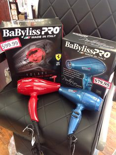BaByliss Pro made in Italy  Volare V1 on sale for $99.99(Reg.149.99) Portofino on sale for $79.95 (Reg.$99.95)