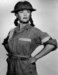 WWII Actress Jinx Falkenburg Enroute to Entertain Troops ...