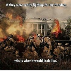 If the troops were REALLY fighting for freedom - this is what it would look like Only In America, Paris Climate, Fight For Freedom, Anarchism, Political Cartoons, We The People, Obama, Liberty, Islam