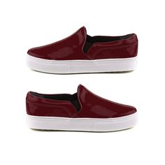 The Indecisive Girl's Guide To Fall Footwear | The Zoe Report Sleek Slip On Sneakers, Schutz $180