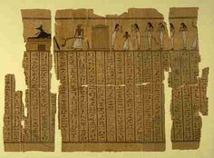 The Pyramid Texts is a famous book on ancient Egypt and is about funerary inscriptions from the early pyramids. One well-known story whose earliest version comes from ancient Egypt is the story of Cinderella. This copy contains a detailed description of the humiliation and torture inflicted on Cinderella by her step-mother. The Book of the Dead is the modern name of an ancient Egyptian funerary text, used from the beginning of the New Kingdom (around 1550 BC) to around 50 BC.