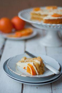 White chocolate and orange sponge.  via Flickr.