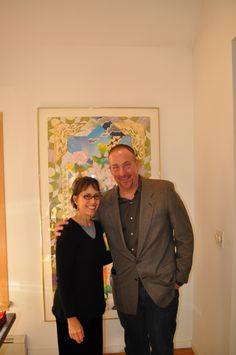 Terry Ross with Artist: Maria Schon