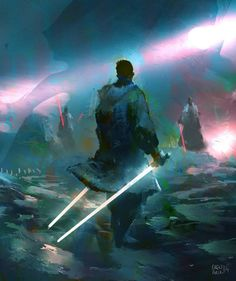 This has got to be one of the coolest SW pieces of art I've seen in a while