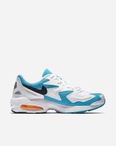 pretty nice 64475 f447d Nike Sportswear Air Max2 Light AO1741 100   White Black Blue   Footwear -  Naked