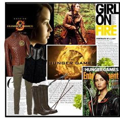 Hunger Games, created by hello-barbie on Polyvore