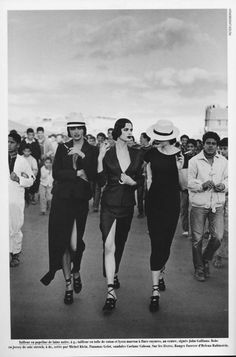 Fashion in Marrakech by Peter Lindbergh
