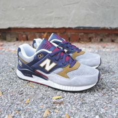 "New Balance 530 ""Wine & Golds"""
