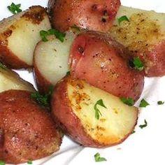 Lemon Horseradish New Potatoes