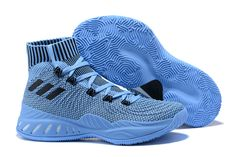 Adidas Shoes OFF!>> New Arrival Hot Sale Adidas Crazy Explosive Blue Black White Men S Basketball Shoes Perfectkicks Basketball Shorts Girls, Jordan Basketball Shoes, Basketball Tricks, Basketball Sneakers, Men's Basketball, Houston Basketball, Basketball Uniforms, Sneakers Mode, Running Sneakers