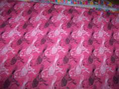 Birds on Flannel Fabric,Pink Snuggle Flannel, 1 Yard by susiesfabrics on Etsy