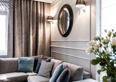 Mieszaknie w kamienicy - Średni salon, styl eklektyczny - zdjęcie od SAS Wnętrza