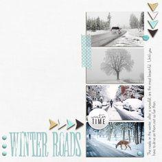 Winter Roads - Scrapbook.com