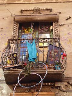Adoquines y Losetas.: Balcón
