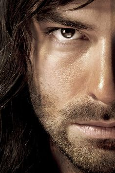 Kili / Aidan Turner. I had a hard time choosing between my geek board and my erotic photography board...