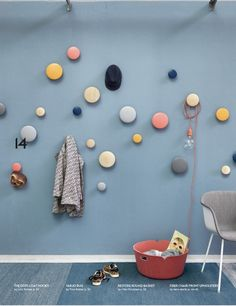 muuto-nouvelle-collection- ss16-pateres-dots-chiara-stella-home #mur #patere #muuto
