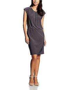 UK 11.5, Grey - Grau (Phantom 9048), Vera Mont Women's 1148/4225 Dress NEW