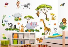 Kinderzimmer wandgestaltung dschungel  216 best Kinderzimmer ▷ Dschungel / Safari images on Pinterest ...