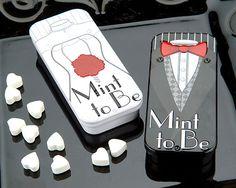 """Mint To Be"" Favor Tin | Price: RM3.50 per pc | Code: MT004 | Size: 3"" x 1.5"" x 1.25"" | Minimum order: 100 pcs"