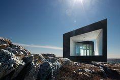 Fogo Island Studios by Saunders Architects