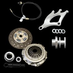 "* Stage 2 ""King Cobra"" Clutch Kit* 10.5"" Clutch Kit* Supports 600-650 Horsepower* Adjustable Clutch Cable/Quadrant/Firewall Adjuster Kit* Silver Finish Quadrant"