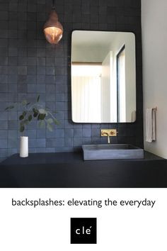 Ideas for the bathroom: 55 blue bathroom design ideas … - Bathroom Blue Bathrooms Designs, Dark Bathrooms, Bathroom Taps, Bathroom Fixtures, Amazing Bathrooms, Bathroom Interior, Small Bathroom, Bathroom Lighting, Bathroom Modern