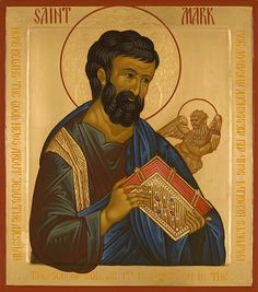 Saint Mark - Icons of the Four Evangelists