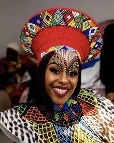 Zulu Traditional Attire, African Fashion Traditional, Traditional Wedding Attire, Traditional Outfits, South African Dresses, African Wedding Dress, Latest African Fashion Dresses, African Attire, Beautiful Ethiopian Women